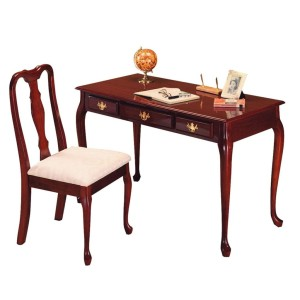 workspace-ore-cherry-home-office-desk-and-chair-set-by-oj-commerce-c3923-wood-desk-chairs-for-home-office-decoration-design