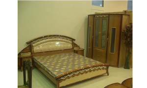 black-double-bed-frame