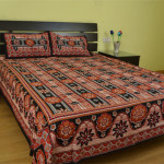 chaadars-brown-cotton-double-bed-sheet-set-chst