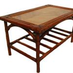 round-wooden-garden-table