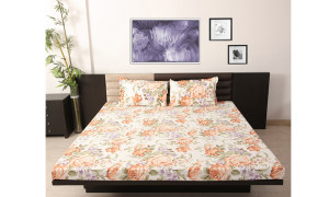 skipper-rust-cotton-double-bed-sheet-set-